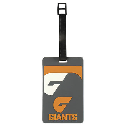 Greater Western Sydney GWS Giants Luggage Tag - Spectator Sports Online