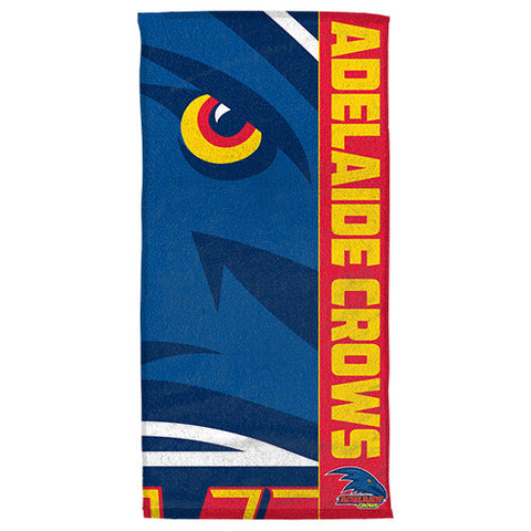 Adelaide Crows Beach Bath Towel - Spectator Sports Online