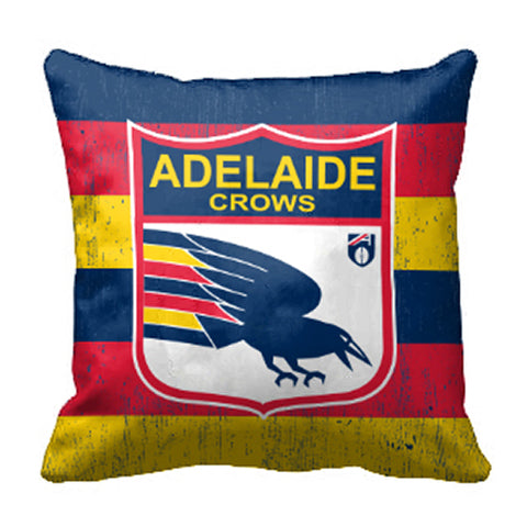 Adelaide Crows Canvas Fabric Pillow Cushion