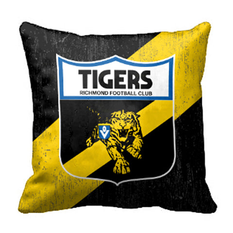 Richmond Tigers Canvas Fabric Pillow Cushion