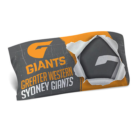 GWS Giants Pillow Case - Spectator Sports Online