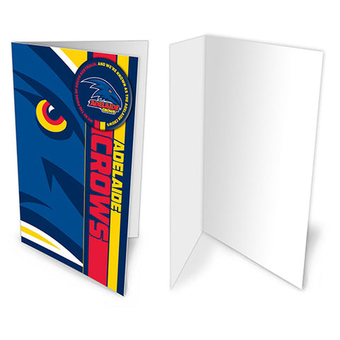 Adelaide Crows Badge Card