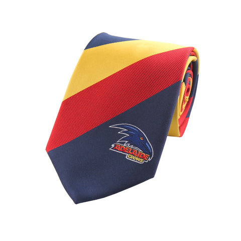 Adelaide Crows Stripe Tie - Spectator Sports Online