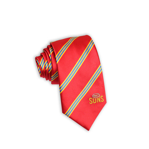 Gold Coast Suns Stripe Tie