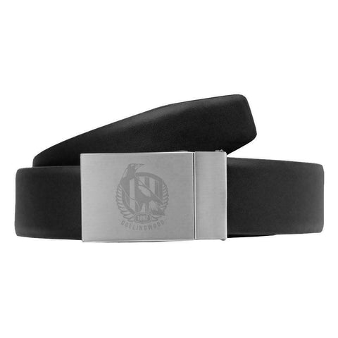 Collingwood Magpies Leather Belt