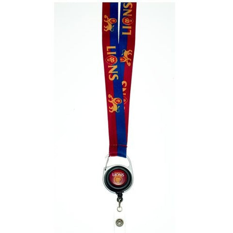 Official AFL Brisbane Lions Lanyard