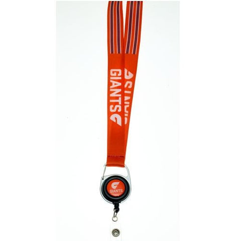 Official AFL Greater West Sydney Giants Lanyard