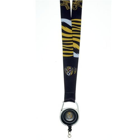Official AFL Richmond Tigers Lanyard