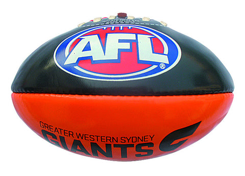Greater Western Sydney GWS Giants 20cm PVC Football