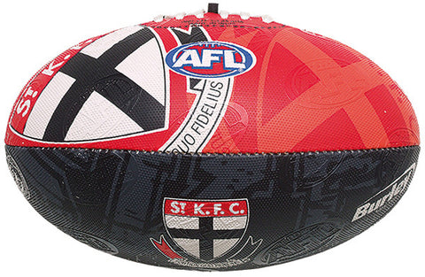 St Kilda Saints Collegiate Size 2 Synthetic Football - Spectator Sports Online - 1