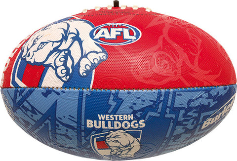 Western Bulldogs Collegiate Size 2 Synthetic Football - Spectator Sports Online - 1