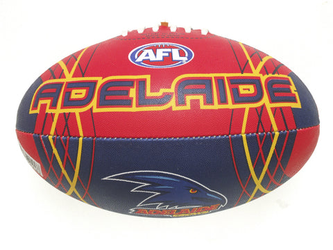 Adelaide Crows Synthetic Football size 5 - Spectator Sports Online - 1