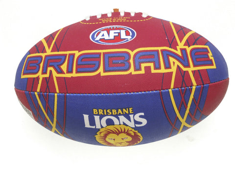 Brisbane Lions Synthetic Football size 5 - Spectator Sports Online - 1
