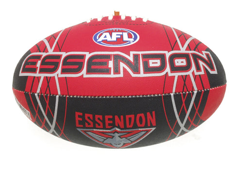 Essendon Bombers Synthetic Football size 5 - Spectator Sports Online - 1