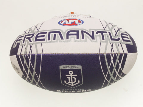 Fremantle Dockers Synthetic Football size 5 - Spectator Sports Online - 1