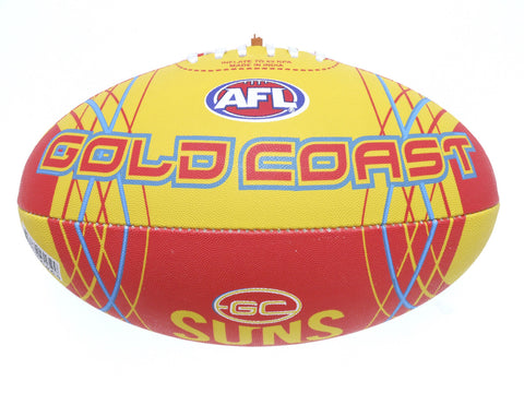 Gold Coast Suns Synthetic Football size 5 - Spectator Sports Online - 1