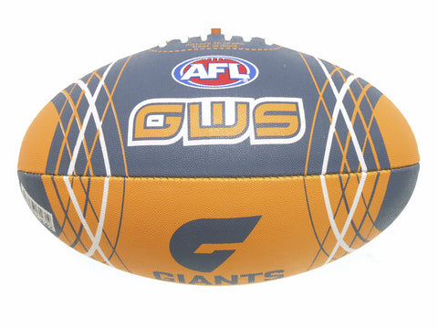 Greater Western Sydney GWS Giants Synthetic Football size 5 - Spectator Sports Online - 1
