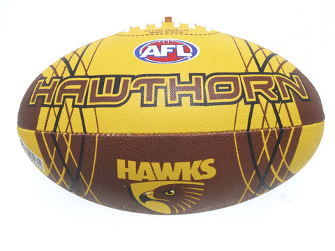 Hawthorn Hawks Synthetic Football size 5 - Spectator Sports Online - 1