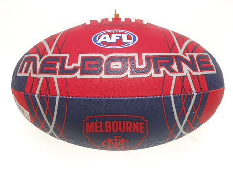 Melbourne Demons Synthetic Football size 5 - Spectator Sports Online - 1