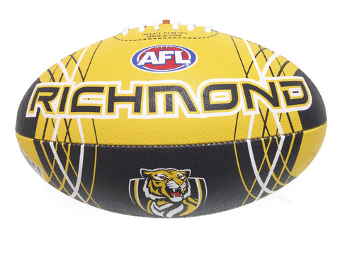 Richmond Tigers Synthetic Football size 5 - Spectator Sports Online - 1