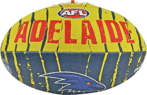 Adelaide Crows Stinger Size 2 Synthetic Football