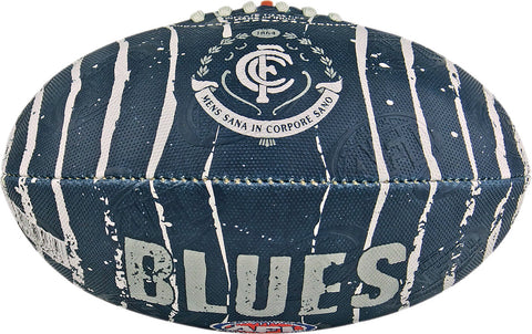 Carlton Blues Stinger Size 2 Synthetic Football