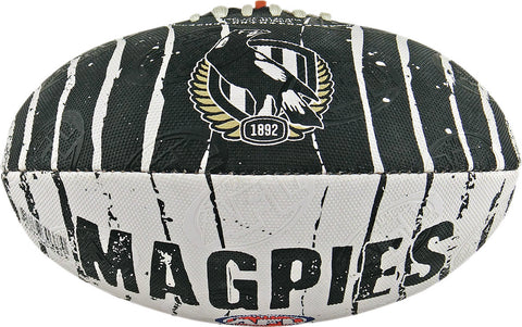 Collingwood Magpies Stinger Size 2 Synthetic Football