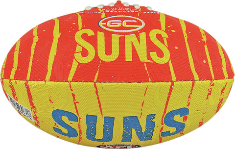 Gold Coast Suns Stinger Size 2 Synthetic Football