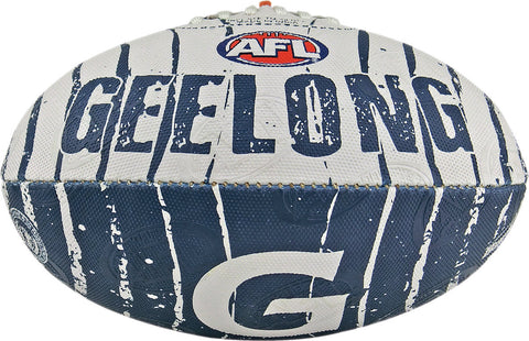 Geelong Cats Stinger Size 2 Synthetic Football