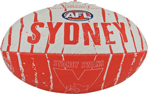 Sydney Swans Stinger Size 2 Synthetic Football