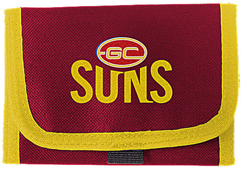 Gold Coast Suns Velcro Wallet - Spectator Sports Online - 2