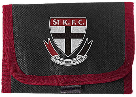 St Kilda Saints Velcro Wallet - Spectator Sports Online - 1