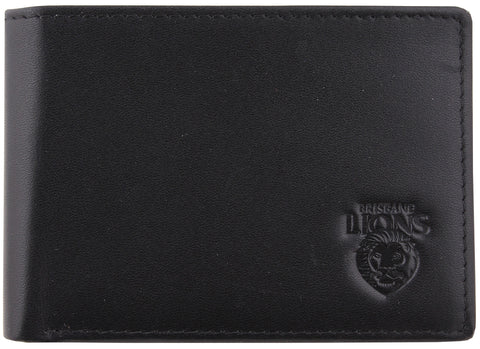 Brisbane Lions Leather Wallet - Spectator Sports Online - 1