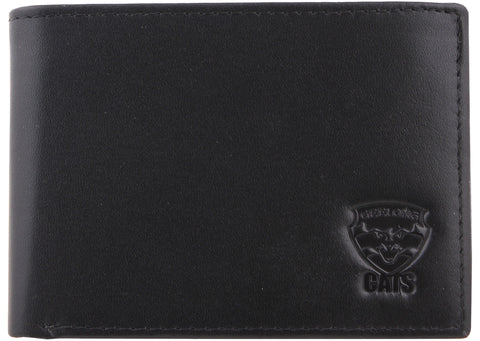 Geelong Cats Leather Wallet - Spectator Sports Online - 1