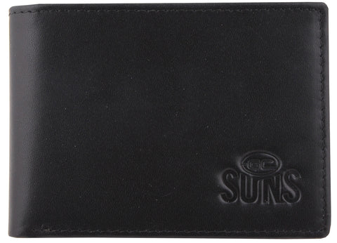 Gold Coast Suns Leather Wallet - Spectator Sports Online - 1