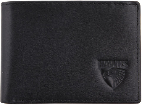 Hawthorn Hawks Leather Wallet - Spectator Sports Online - 1