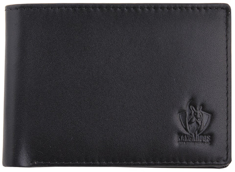 North Melbourne Kangaroos Leather Wallet - Spectator Sports Online - 1