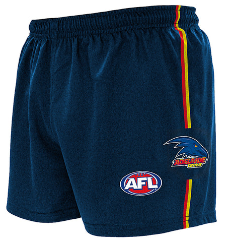 NEW Adelaide Crows Mens Replica Playing Shorts