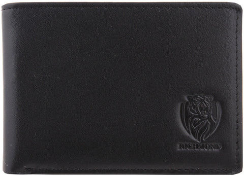 Richmond Tigers Leather Wallet - Spectator Sports Online - 1