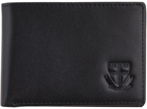 St Kilda Saints Leather Wallet - Spectator Sports Online - 1