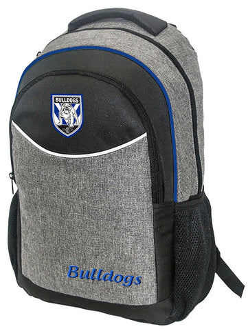 Canterbury Bulldogs NRL Stealth School Backpack Bag