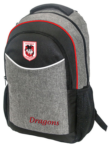 St George Dragons NRL Stealth School Backpack Bag