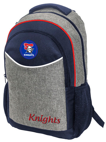 Newcastle Knights NRL Stealth School Backpack Bag