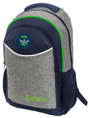 Canberra Raiders NRL Stealth School Backpack Bag
