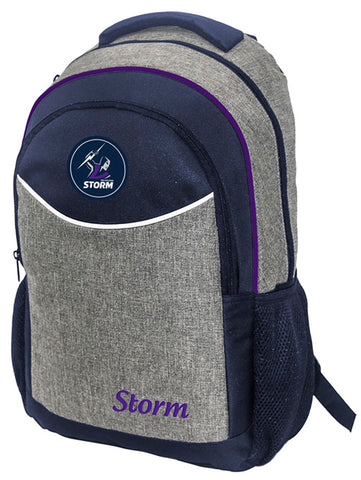 Melbourne Storm NRL Stealth School Backpack Bag