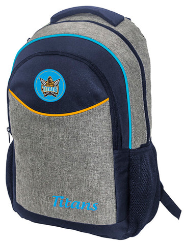 Gold Coast Titans NRL Stealth School Backpack Bag