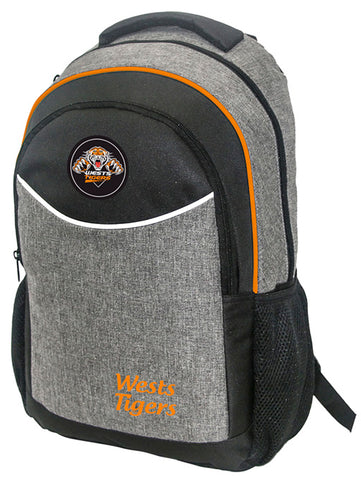 Wests Tigers NRL Stealth School Backpack Bag