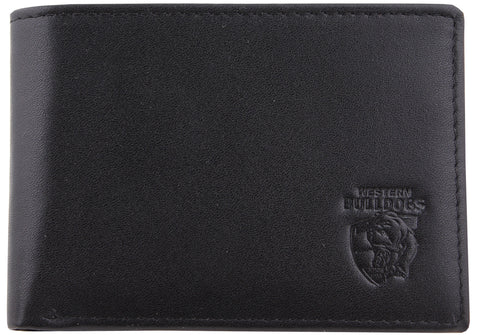 Western Bulldogs Leather Wallet - Spectator Sports Online - 1
