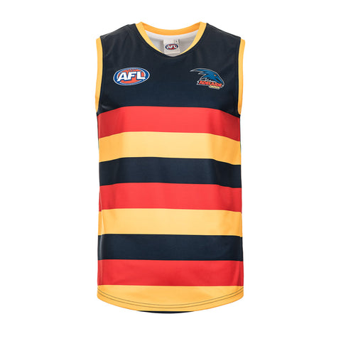 Adelaide Crows Mens Footy Jumper Guernsey