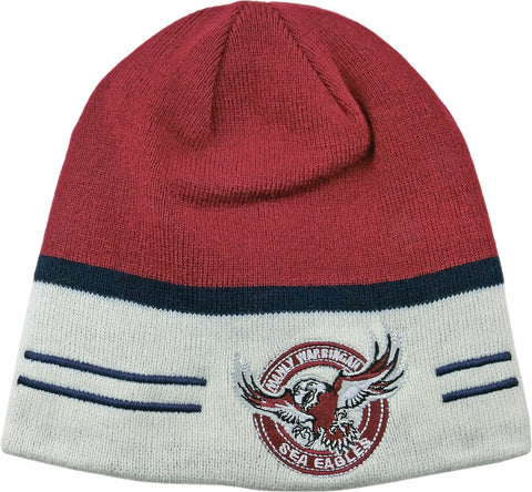 Manly Sea Eagles NRL Switch Reversible Beanie